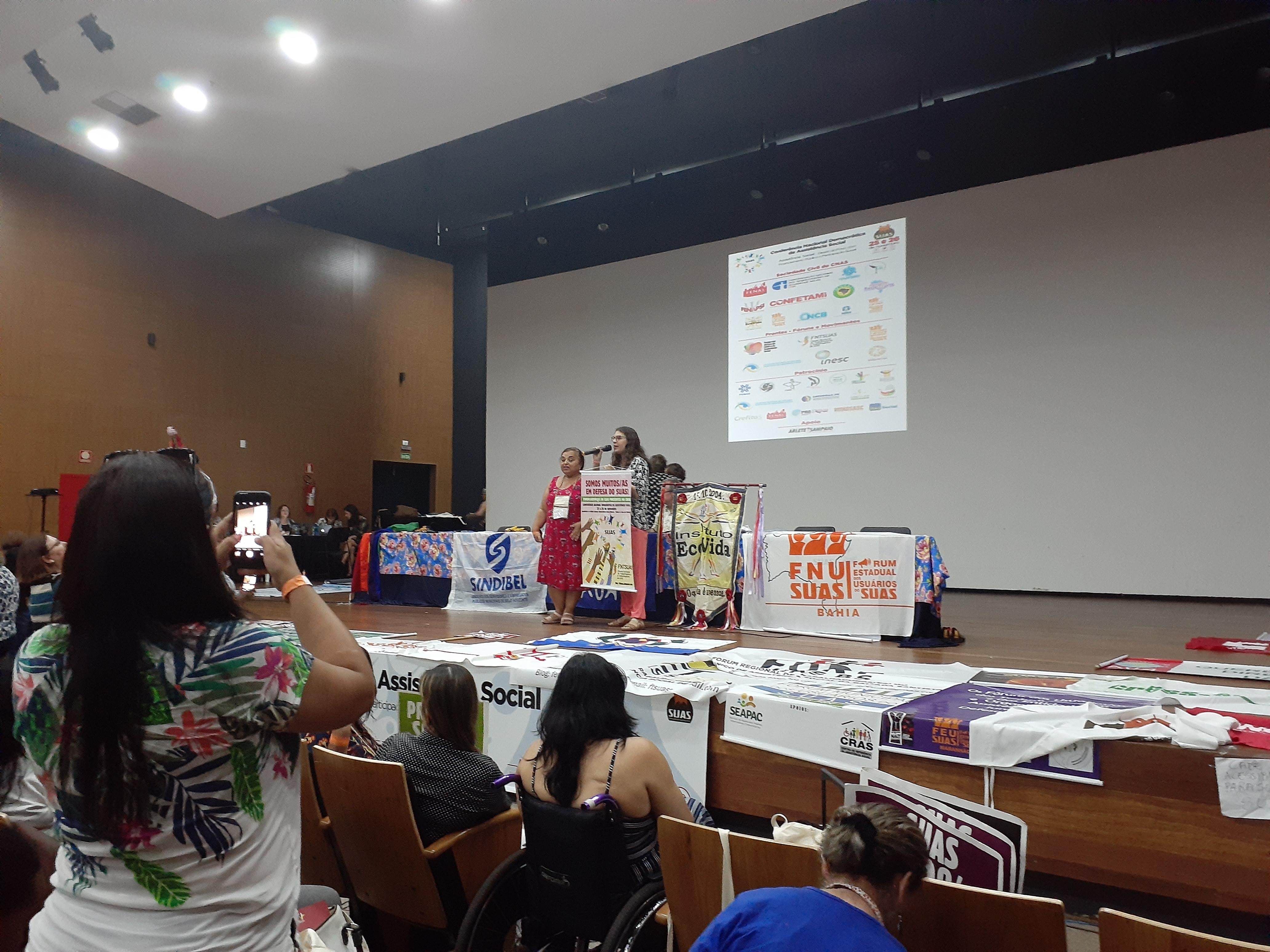 Conferência Nacional Democrática de Assistência Social defendeu SUAS